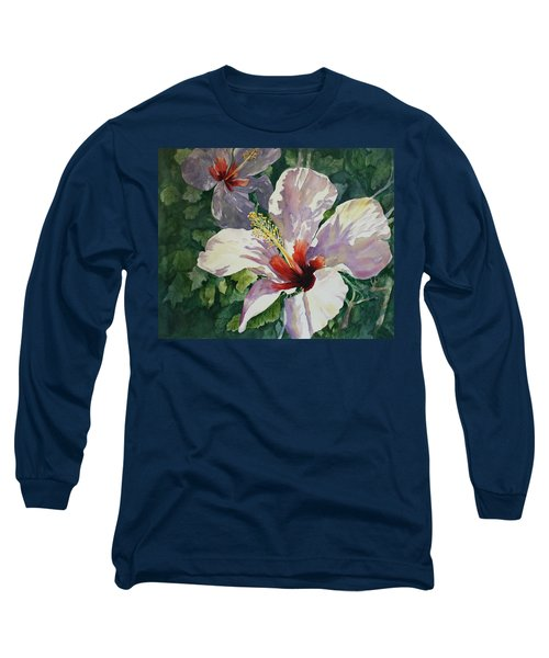 Radiant Light - Hibiscus Long Sleeve T-Shirt