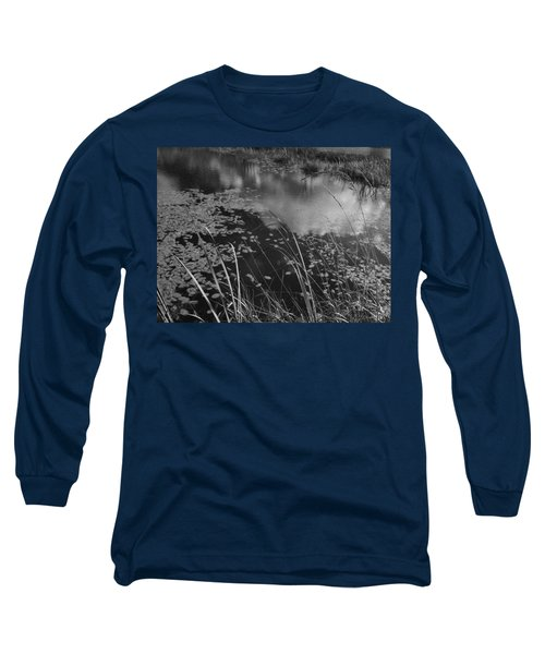Reflections In The Pond Long Sleeve T-Shirt