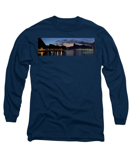 Rio Skyline From Urca Long Sleeve T-Shirt
