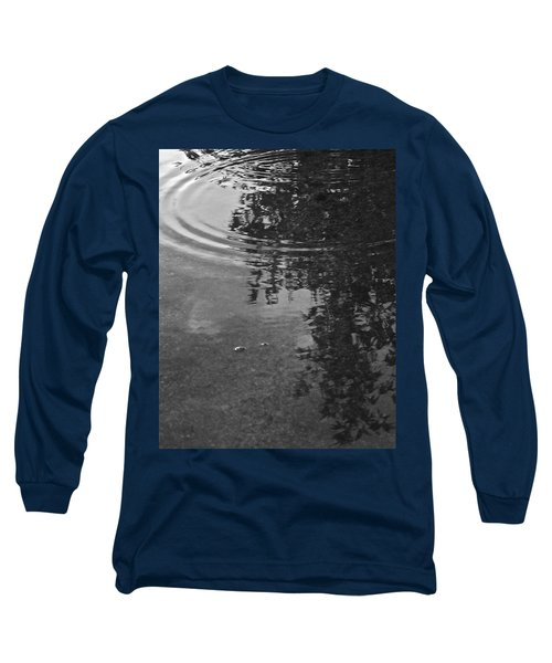 Long Sleeve T-Shirt featuring the photograph Rippled Tree by Kume Bryant