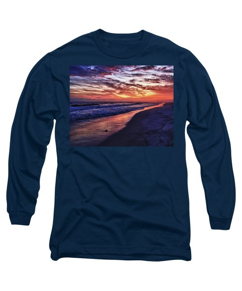 Romar Beach Sunset Long Sleeve T-Shirt