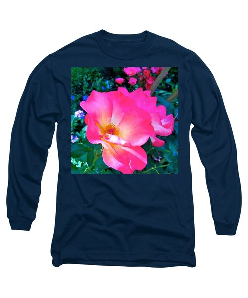 Roses From Anna's Gardens Long Sleeve T-Shirt