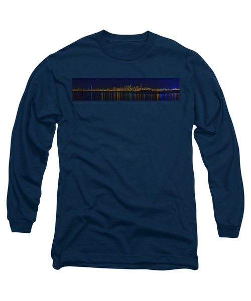 Seattle Moody Blues Long Sleeve T-Shirt by James Heckt