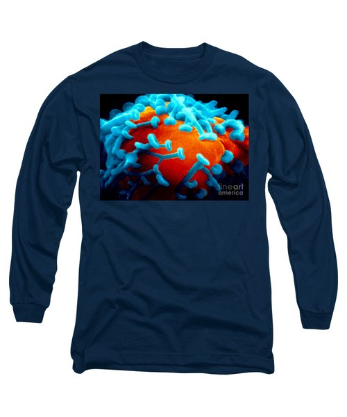 Sem Of Nerve Synapses In Aplysia Long Sleeve T-Shirt