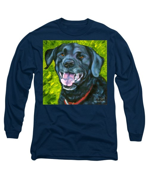 Smiling Lab Long Sleeve T-Shirt