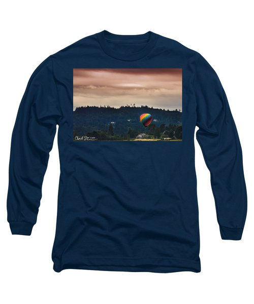 Snohomish Baloon Ride Long Sleeve T-Shirt by Charlie Duncan