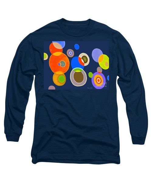 Somewhere Out There Long Sleeve T-Shirt by Beth Saffer