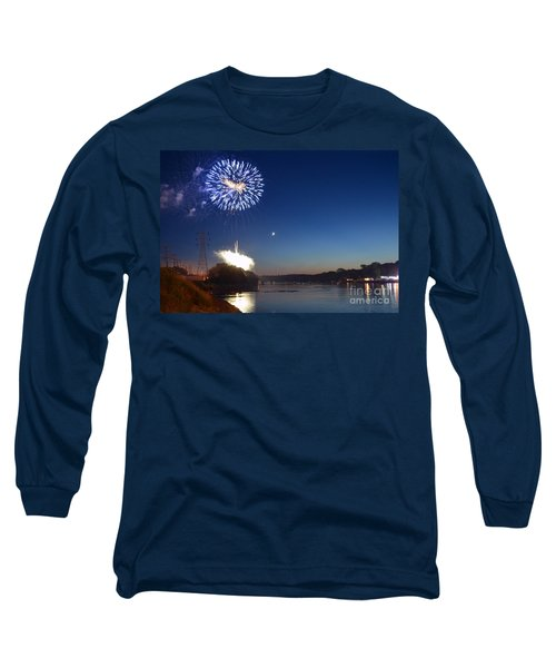 Sparkling Water  Long Sleeve T-Shirt by Sue Stefanowicz