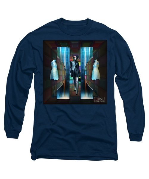 Steel Eyes Mannequin Long Sleeve T-Shirt