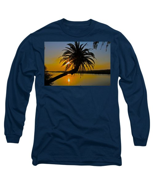 Long Sleeve T-Shirt featuring the photograph Sunrise On The Loop by Alice Gipson