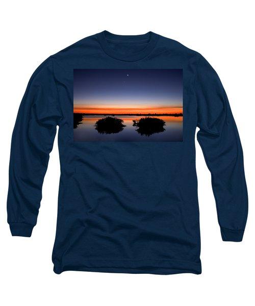 Sunset Moon Venus Long Sleeve T-Shirt