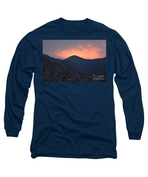 Sunset Over Red Rock Long Sleeve T-Shirt