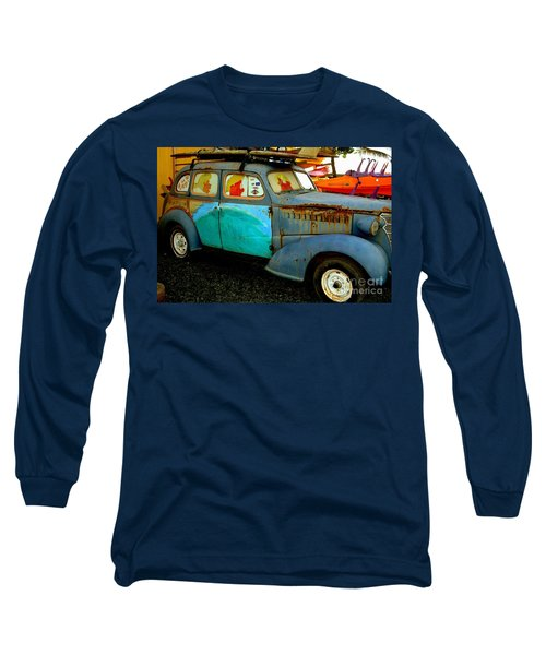 Surf Mobile Long Sleeve T-Shirt by Mark Gilman
