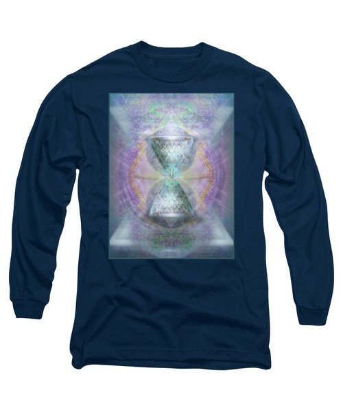 Synthesphered Grail On Caducus Blazed Tapestrys Long Sleeve T-Shirt
