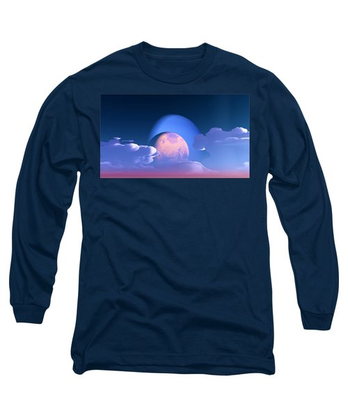 Long Sleeve T-Shirt featuring the digital art The Alignment... by Tim Fillingim