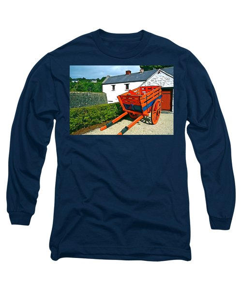 Long Sleeve T-Shirt featuring the photograph The Cart by Charlie and Norma Brock