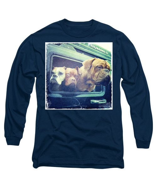 The Dog Taxi Is A Hummer Long Sleeve T-Shirt