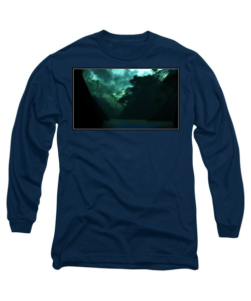 Long Sleeve T-Shirt featuring the digital art The Majesty... by Tim Fillingim