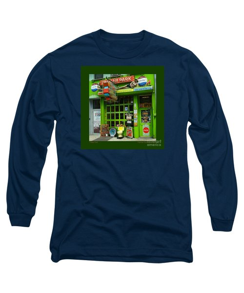 Trailer Park Long Sleeve T-Shirt by Patricia Overmoyer