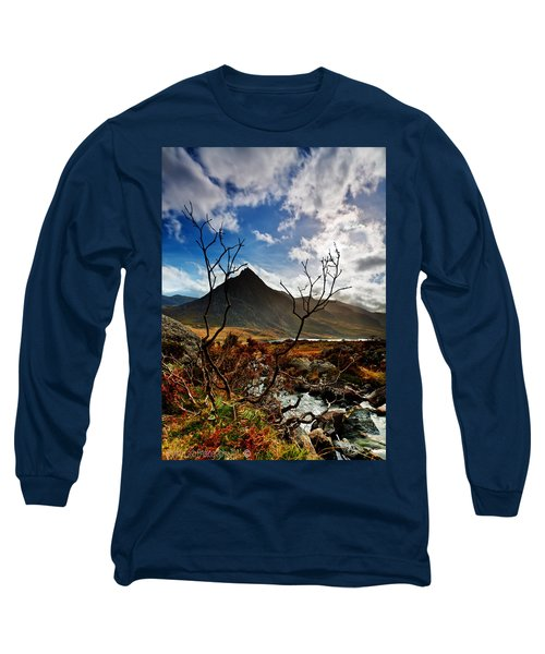 Tryfan And Tree Long Sleeve T-Shirt