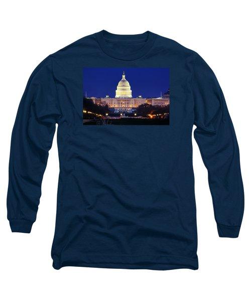 U.s. Capitol Long Sleeve T-Shirt