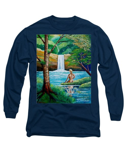 Waterfall Nymph Long Sleeve T-Shirt