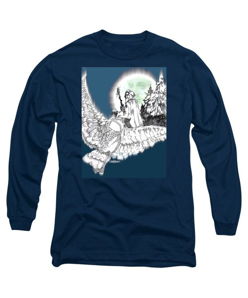 Whisper In The Wind Long Sleeve T-Shirt by Seth Weaver