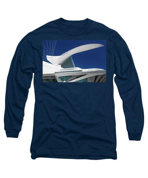 Wings Wide Open Long Sleeve T-Shirt by Jonah  Anderson