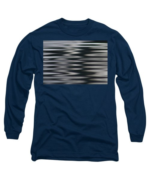 Zebra Waters Long Sleeve T-Shirt by Cathie Douglas
