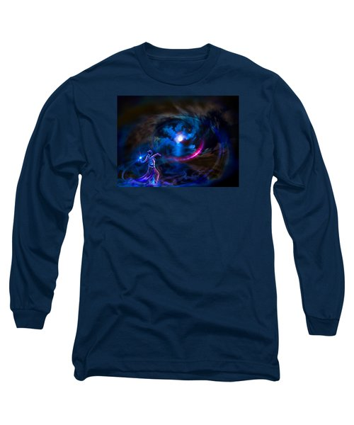 Entrancing The Mystical Moon Long Sleeve T-Shirt