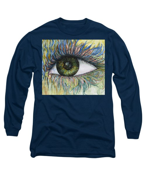 Eye For Details Long Sleeve T-Shirt by Kim Tran