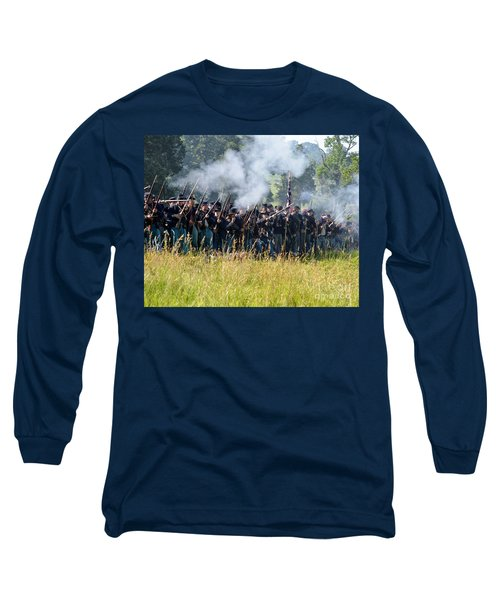 Gettysburg Union Infantry 9360c Long Sleeve T-Shirt