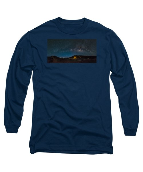 Milky Way Over Haleakala Long Sleeve T-Shirt
