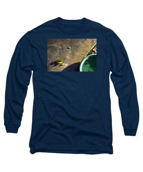 Long Sleeve T-Shirt featuring the photograph  Three Is Family by Prakash Ghai