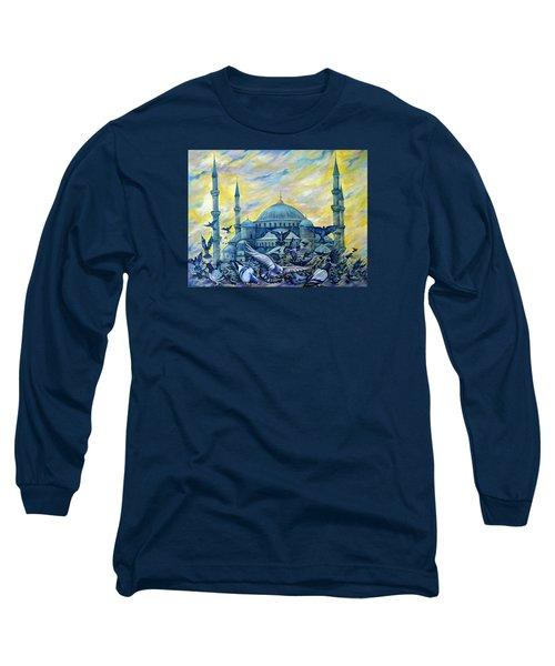 Turkey. Blue Mosque Long Sleeve T-Shirt