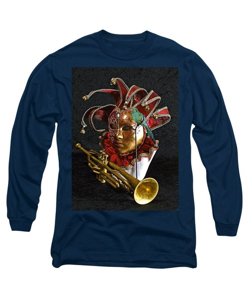 Venitian Joker Long Sleeve T-Shirt by Elf Evans