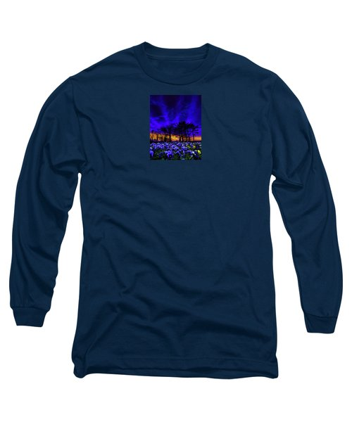 Long Sleeve T-Shirt featuring the photograph 4413 by Peter Holme III