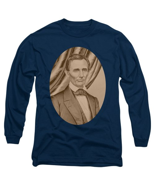 Abraham Lincoln Circa 1860  Long Sleeve T-Shirt