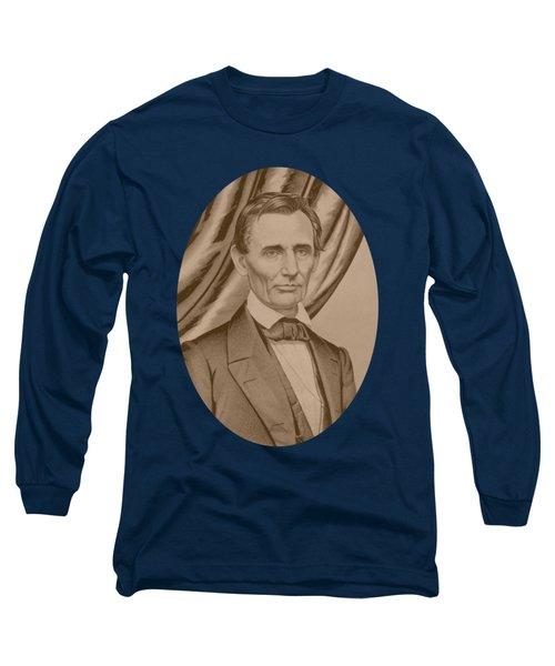 Abraham Lincoln Circa 1860  Long Sleeve T-Shirt