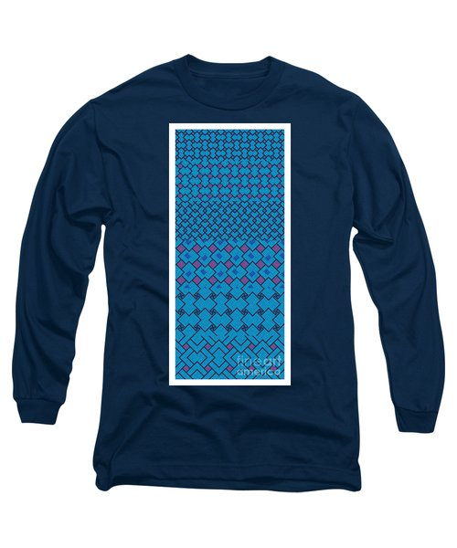 Bibi Khanum Ds Patterns No.7 Long Sleeve T-Shirt