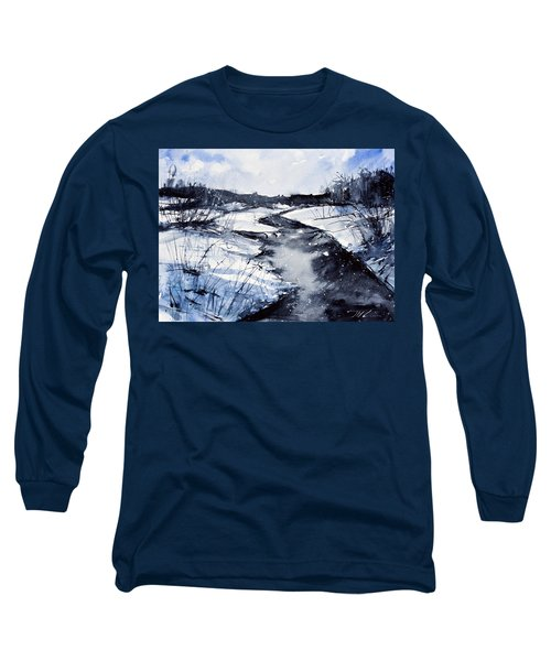 Blue Long Sleeve T-Shirt by Judith Levins