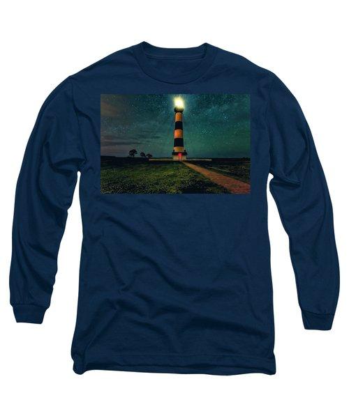 Bodie Island Night Long Sleeve T-Shirt