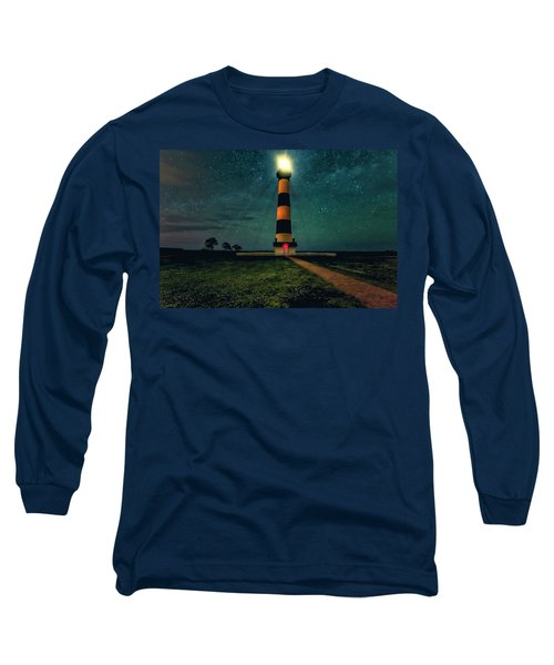 Bodie Island Night Long Sleeve T-Shirt