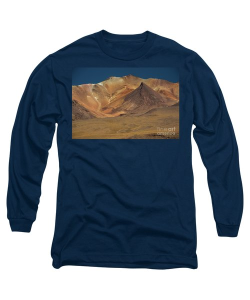 Long Sleeve T-Shirt featuring the photograph Bolivian Highland by Gabor Pozsgai