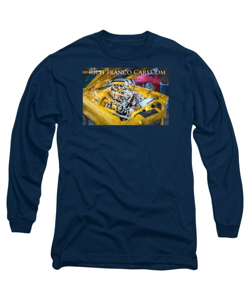 Business Card Long Sleeve T-Shirt by Rich Franco