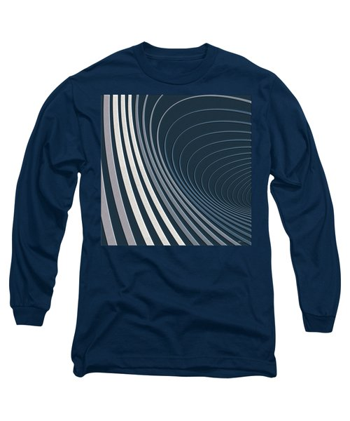 Color Harmonies - Mountain Mist Long Sleeve T-Shirt