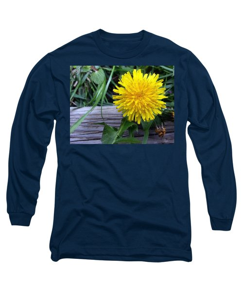 Long Sleeve T-Shirt featuring the photograph Dandelion by Robert Knight