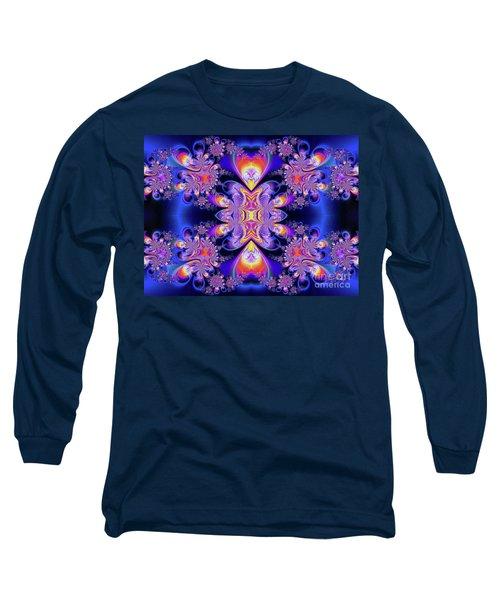 Long Sleeve T-Shirt featuring the digital art Deep Heart by Ian Mitchell