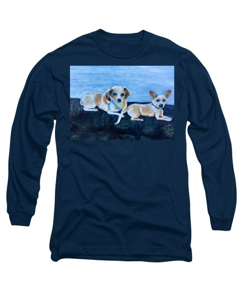 Dogs Resting Long Sleeve T-Shirt