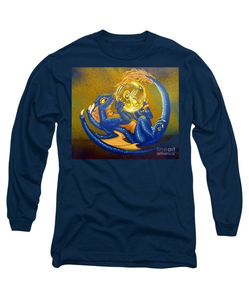 Dragon And Captured Fairy Long Sleeve T-Shirt